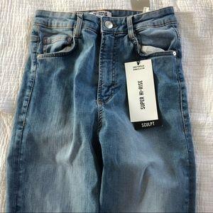 ZARA High rise skinny jeans